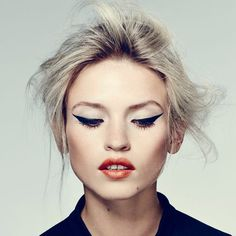 Benefit They're Real Liner #TutoriELLE: The Graphic Wing | Fashion, Trends, Beauty Tips & Celebrity Style Magazine | ELLE UK