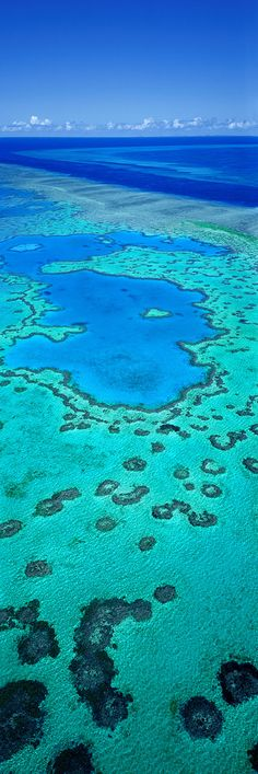 ~Heart Reef, Great Barrier Reef, Queensland, Australia | The House of Beccaria
