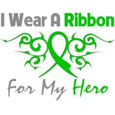 Cerebral Palsy Tribal Deco Ribbon Hero