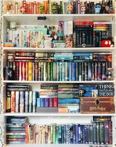 I wish my nerd corner was this organized^^ I Love Books, Books To Read, My Books, Gone Michael Grant, Book Aesthetic, Shelfie, Book Fandoms, Library Books, Dream Library