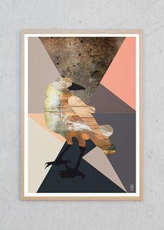 Plakat af Bird Graphic fra PlakatOmat