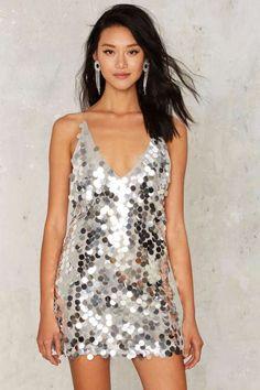 Motel Crash the Bash Sequin Dress