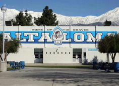 Alta Loma High School in Rancho Cucamonga, CA. My high school....
