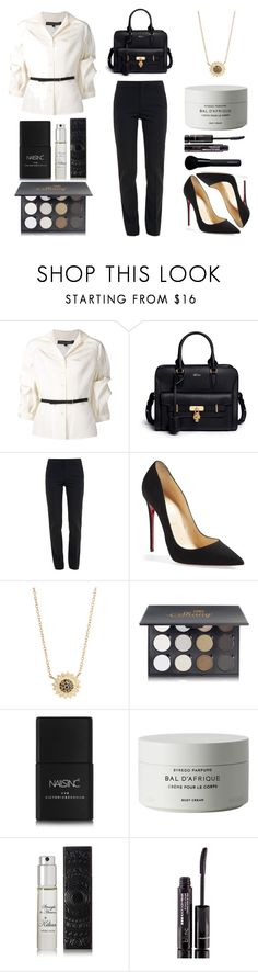 """Ready for Work"" by katsin90 ❤ liked on Polyvore featuring Carolina Herrera, Alexander McQueen, Chloé, Christian Louboutin, Jamie Wolf, Nails Inc., Byredo, Kilian, Blinc and Givenchy"