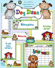 I Really Want To Do A Dog Themed Classroom