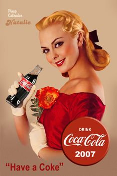 "The PinUp Art: ""Have a Coke"" Coca Cola Pin Up..."