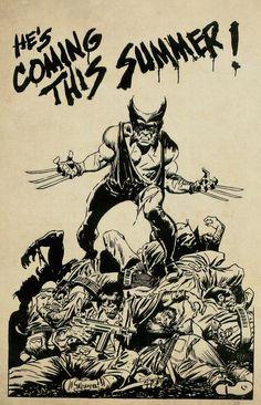 Wolverine by John Buscema