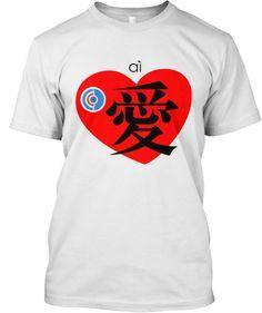 Love - Chinese Char Tees!