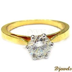 Diamond Ladies Ring in Hallmarked Gold [Rs    56,269]