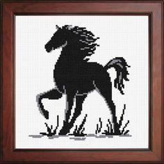 Силуэт «Конь» N-1906