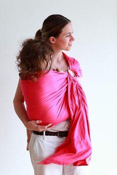 Sling porte-bébé en coton bio | Ling Ling d'amour