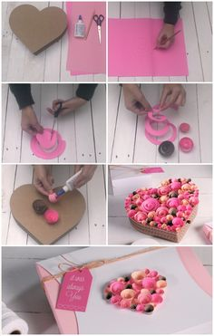 How To Wrap Valentine Day Gifts - 25 Unique & Creative Ways : Full of Paper Gift Wrap Tutorial Know the unique and best valentine day gifts to wrap ideas. This is the perfect way to show your emotions and try out DIY cover to show up bright. Kids Crafts, Diy Crafts Hacks, Diy Crafts For Gifts, Paper Flowers Craft, Flower Crafts, Paper Crafts, Paper Roses, Decoration St Valentin, Best Valentine's Day Gifts