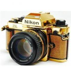 #Photography : $12,000 24-carat #gold #Nikon camera up for sale on #eBay : via @pcr_online