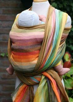 Girasol Amitola woven wrap! Gorgeous!