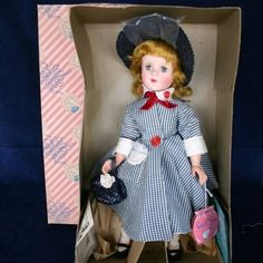 """VINTAGE 1950'S AMERICAN CHARACTER, SWEET SUE 17"""" DOLL MINT IN BOX"""
