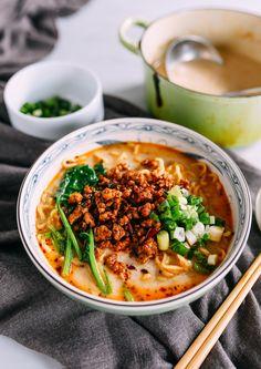 Ramen Recipes, Asian Recipes, Dinner Recipes, Cooking Recipes, Ethnic Recipes, Japanese Recipes, Asian Foods, Fresh Ramen Noodles, Ramen Noodle Soup