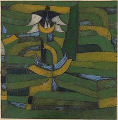 Paul Klee - White Blossoms In The Garden 1920 Guggenheim Museum