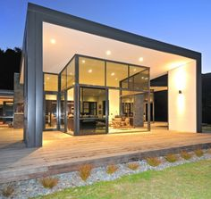 Casa Paratiho en Nueva Zelanda Diseño Integrado en el Entorno   Decoration Digest