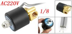 Free Shipping High Quality 1/8'' Water Solenoid Valve 2 Way 2 Position 2W025-06 AC220V