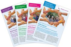 Voor Welzijn Lelystad zijn er voor de Wijkinfopunten 4 websites en flyers gecreeerd. Realisatie: Inaxion