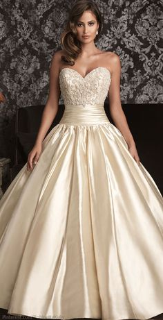 Allure Bridals 9001 Allure Bridal Catan Fashion, Bridal Gowns, Mother of the Bride, Prom, Formal Wear Bridal Wedding Dresses, Wedding Dress Styles, Wedding Attire, Bridal Style, Bridesmaid Dresses, Gold Wedding, Prom Dresses, Spring Wedding, Champaign Wedding Dress
