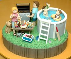#Summer cake - For all your cake decorating supplies, please visit craftcompany.co.uk