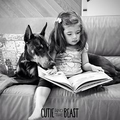 #best #Doberman #dog......This looks like Kirsten and her Ladybug                                                                                                                                                      More