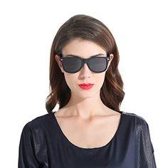 23bce7e854f6 CHB Men s Women s Classic Clubmaster Half Frame Semi-Rimless Rimmed Polarized  Sunglasses UV400 with Case