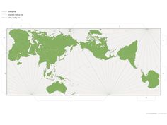 l-area type world map projection that was invented by Japanese architect Hajime Narukawa in 1999. While concep