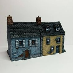 10mm Scale European Houses   The Wargames Website