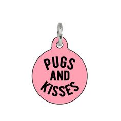 Pug Personalized Dog Tags for Pets / Dog ID Tags / by BadTags
