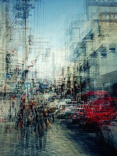These photos by Stephanie Jung are actually multiple-exposure prints!  via Inspiration Grid
