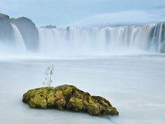 Godafoss, Iceland.....I wonder if I would have hot flashes here.  It's been beautiful....I'm gonna go one day!
