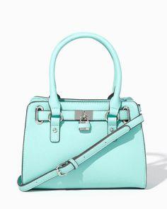 charming charlie | Mini Lady Lockbox Satchel | UPC: 400000126739 #charmingcharlie