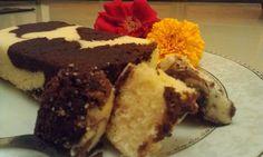 sprinkleandglitter: Marbled chocolate and orange loaf