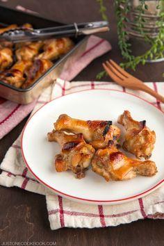 Honey Soy Sauce Chicken はちみつ醤油チキン | Easy Japanese Recipes at JustOneCookbook.com