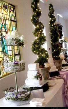 Polivka/Leaman Remnant Fellowship Wedding Cake Table