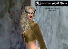 [AD Creations Doll House] Aliza Karu:   Look at me mesh glasses