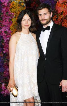 Jamie Dornan  wife Amelia Warner