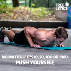 Every exercise, every workout, every repetitions bears a challenge. It does not matter if it's 10, 50, 100 or 1000 repetitions you need to push yourself. Otherwise you will not be able to beat your Personal Best. #giveityourall ►►► www.frltcs.com/Athlete