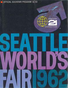 World's Fair souvenir program, 1962