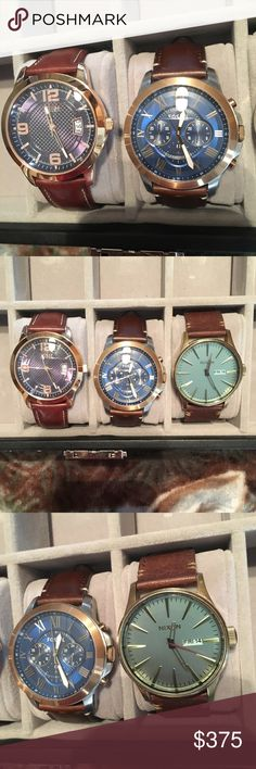Guess Watch, Nixon Watch, Fossil Watch 3 nice scratch free watches Accessories Watches