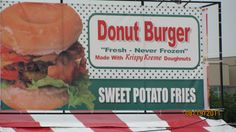 My Picture from KY State Fair 2011 Krispy Kreme Burger