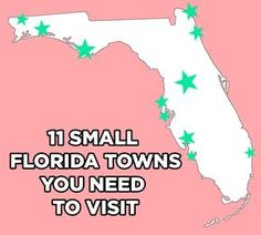 Florida's a big state, and possibly the best one to road trip through! More