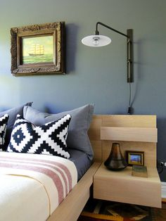Iluminacion lateral sofa.