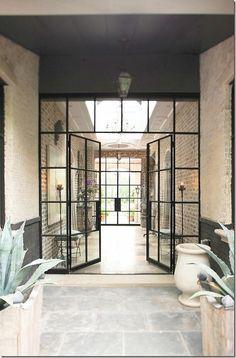 Doors & Windows - Stunning steel frame & glass doors & windows