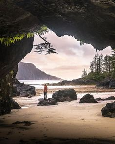 Looking for your next beach camping adventure? Cape Scott Provincial Park is a rugged coastal wilderness at the northwestern tip of… Vancouver Island, Canada Vancouver, Vancouver Beach, Lanai Island, Island Beach, Tonga, Places To Travel, Places To Visit, Viajes