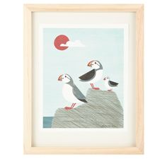 Puffin Family by A. See