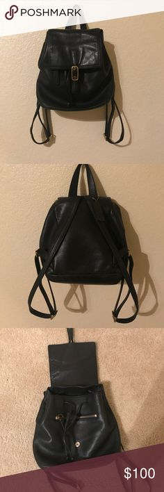 Vintage coach backpack In great condition! Very cute and stylish! Coach Bags Backpacks