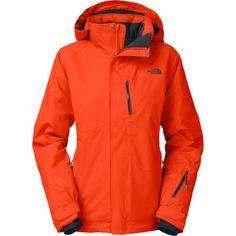 The North FaceBansko Jacket - Women s Orange North Face Jacket fa8c0ffc9